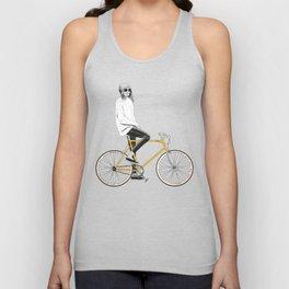 The Yellow Bike Unisex Tank Top