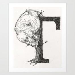 Timtree Art Print