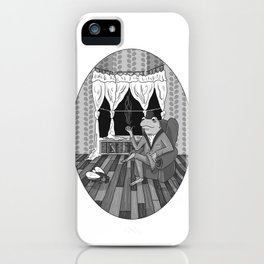 """""""Now, Play dead."""" iPhone Case"""