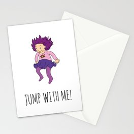 Jump with me! Stationery Cards