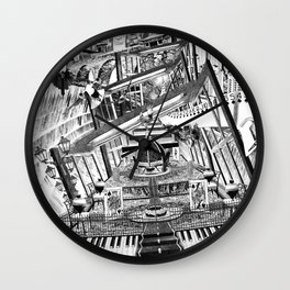 A VECES CUALQUIER COSA ES CUALQUIER COSA Wall Clock