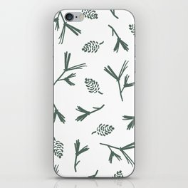Pinecone Print iPhone Skin