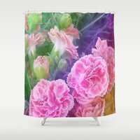 be happy Shower Curtains featuring Happy by SBHarrison