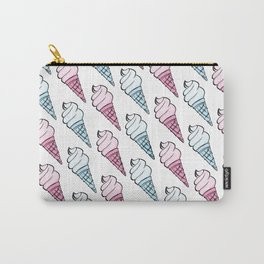 Society6 / Pink Ice Cream Please Carry-All Pouch