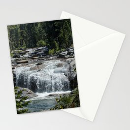 California Forest Waterfall Stationery Cards
