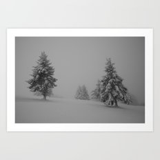 Time Frozen II Art Print