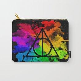 Rainbow Hallows  Carry-All Pouch