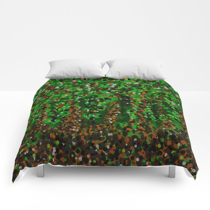 Abstract Forest Comforters