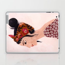 Embroidered scarf Laptop & iPad Skin