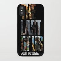 the last of us iPhone & iPod Cases featuring The Last of Us by fardeen