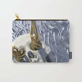 Tear-Stained Dreamer Reaches for the Skies Carry-All Pouch