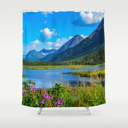 God's_Country - II Shower Curtain