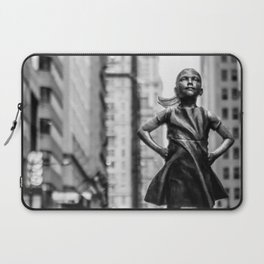 Fearless Girl New York City Laptop Sleeve