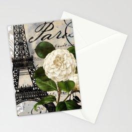 Paris Blanc I Stationery Cards