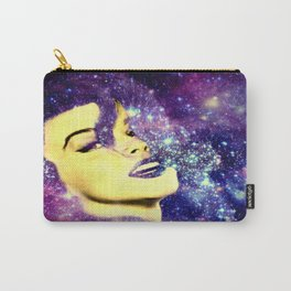 Baby, You're A Star : Purple Blue Galaxy Carry-All Pouch
