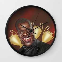 Clarence Seedorf Caricature Wall Clock
