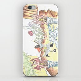 Santos Zapatos (Dreamscape) iPhone Skin