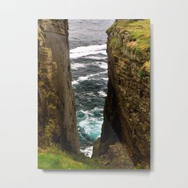 Brough Head Metal Print