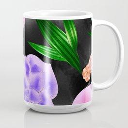 Black Blush Rose Coffee Mug