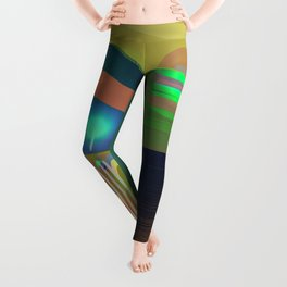 Oxygen Air Bank Station Leggings