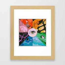 Live Your Truth Framed Art Print