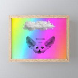 Little Angel Fennec Fox Framed Mini Art Print