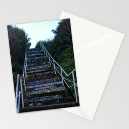 Staircase of Color Stationery Cards