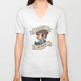 Cute As Heck Unisex V-Neck