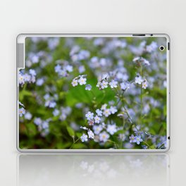 Forget-me-not Close up Laptop & iPad Skin