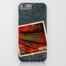 Grunge sticker of Albania flag iPhone 6s Slim Case