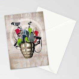 Le troisième oeil Stationery Cards