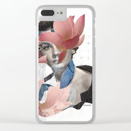 Miss August Clear iPhone Case