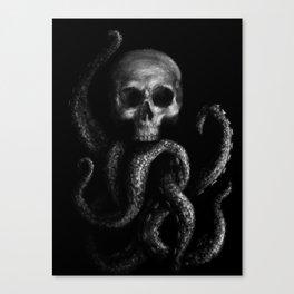 Skullapus Canvas Print