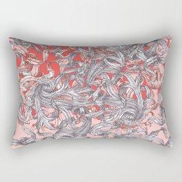 'A world of made is not a world of born' Rectangular Pillow