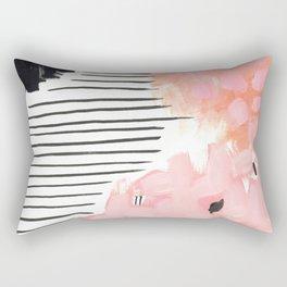Pink Abtract #324 Rectangular Pillow