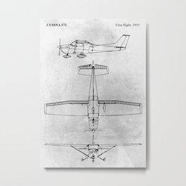 CESSNA 172 Metal Print
