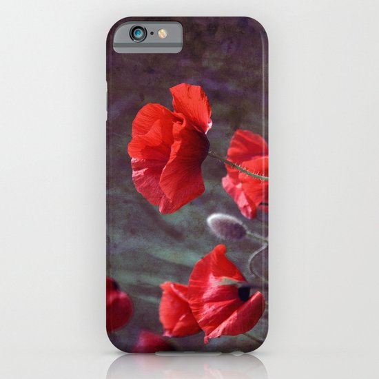 red poppyfield  iPhone & iPod Case
