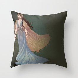 Elf Beauty Throw Pillow