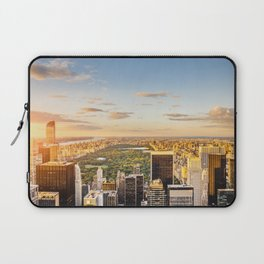 Central park at sunset - aerial view Laptop Sleeve
