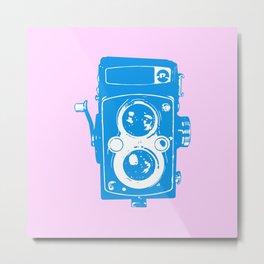 Big Vintage Camera Metal Print