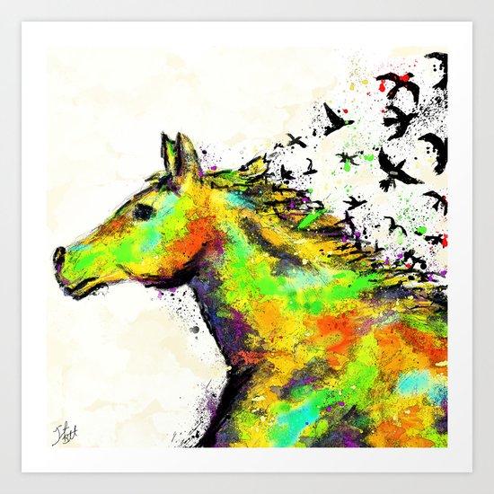 A Horse's Spirit Art Print