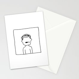 Bite the bullet. Stationery Cards