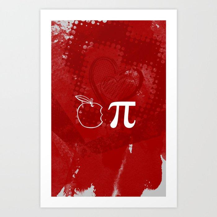 Apple Pie - Cherry Vodka Art Print