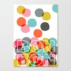 Bon Bon Canvas Print