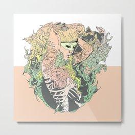I N K : II Metal Print