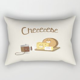 cheeeese Rectangular Pillow
