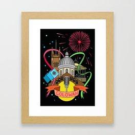 Golowan Festival Framed Art Print