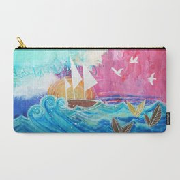 Sweet Sailboat Dreams Carry-All Pouch