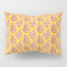 Christmas Tree Cakes Pattern - Yellow Pillow Sham