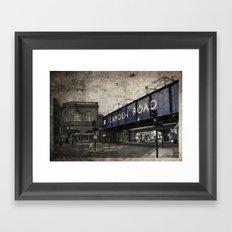 Camden Road Train Station Framed Art Print